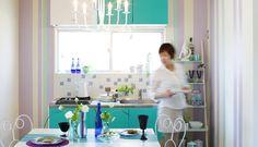 GALLERY【KITCHEN - CHIC】mtで部屋を着替えよう!mt CASA DEBUT!壁や家具を彩るワイドサイズのmt CASA,デビュー!