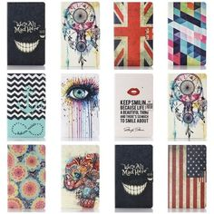 """Pattern Leather Case Cover Stand for Samsung Galaxy Tab 4 7.0"""" inch Tablet T230 #UnbrandedGeneric"""