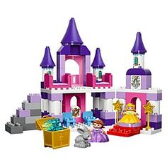 Sofia the First: Sofia's Royal Castle Playset by LEGO Duplo | Disney Store Enjoy…