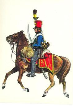 Hussards 2è-Rgt Archiduc Joseph - 1805