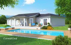 Cornaline / Modèles de plain-pied / Nos modèles de maisons / Accueil - Bati-Est