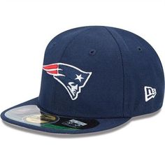 New Era New England Patriots Infant/Toddler My 1st On-Field 59FIFTY Football Structured Fitted Hat