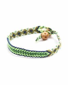 Bracelet brésilien multicolore tête de mort Chanael K Happy CHANAEL K