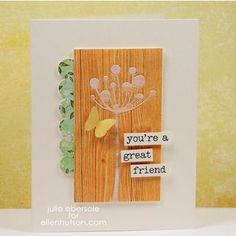 VIDEO TUTORIAL: Adhesive For Delicate Die Cuts by Julie Ebersole - the CLASSroom