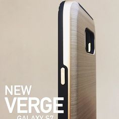The Verge has been given an update for the Galaxy S7! The sleek brushed metal design now covers more of the case & it comes with separate metallic buttons for a satisfying click everytime  Order online now at www.vrsdesign.com #Verge #vrsdesign #metaldesign #shinebright #shinegold