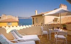 La Ponche | Luxury 5-star luxury hotel restaurant | Seaside hotel Saint-Tropez