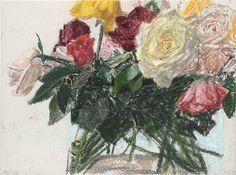 Avigdor Arikha - Roses, 1995