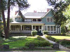 House in Monford, neighborhood of Asheville, NC