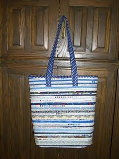 Selvage Blog: JoAnne's Selvage Tote Bag