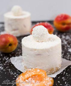 No-bake Aprikosen-Kokos-Cake