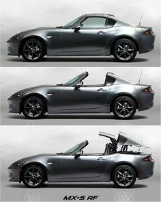 ❗Mazda introducing the MX-5 RF a retractable roof with fastback styling #MX5RF…