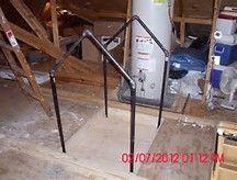 Marvelous Attic Hoist 11 Diy Attic Lift Pulley System Wisatakuliner Xyz Attic Lift Hoist Custom Built Homes