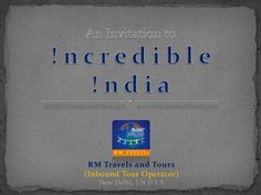inbound-for-india by RM Travels via Slideshare