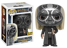 AmazonSmile: Funko POP Harry Potter:Lucius Malfoy: Death Eater Mask Hot Topic Exclusive: Toys & Games