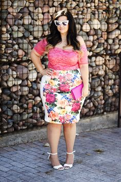 plus la taille jupe crayon de body été coons Ootd 2015 tendances de cristal Comment porter un body