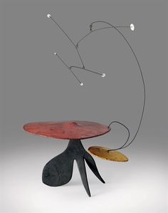 Alexander Calder, Toadstool with Hovering Excrescences, 1948