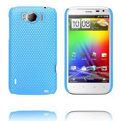 Atomic (Ljusblå) HTC Sensation XL-Skal