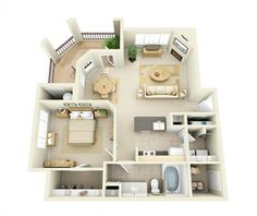 Apartments in Parker CO | Cherrywood Village Floor Plans