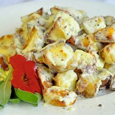 Creamy Parmesan Bacon Potatoes - Rock Recipes -The Best Food & Photos from my St. John's, Newfoundland Kitchen.
