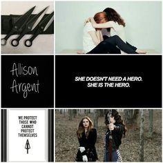 Allison Argent // Teen Wolf 》pinned by @IzzyLightwood