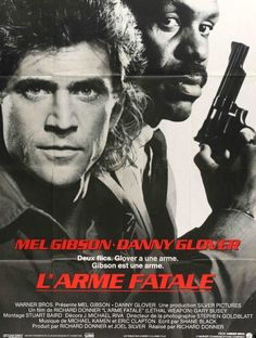 Lethal Weapon (1987) Original French Grande Movie Poster