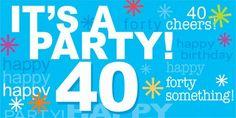 It's a party!! 40