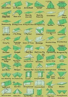 Be flexible with your tent setup. | 23 Simple And Essential Hiking Hacks