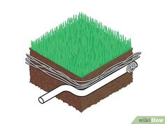 How to Build a French Drain. The French drain is a simple, yet versatile construction which can be used to drain standing water from problem areas in your yard or basement. The process is fairly simple; Gutter Drainage, Backyard Drainage, Drain Français, French Drain System, Pierre Decorative, Drainage Solutions, Water Collection, Sump Pump, Zen Gardens