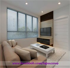 HDB TV Console Feature Wall Tv Feature Wall, Dining Area Design, Living Spaces, Living Room, Console, Design Inspiration, House Design, Sitting Rooms, Living Rooms