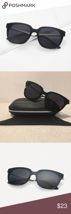 bcfe8caa07b Super Chic Flat Lens Plastic w Metal Sunglasses