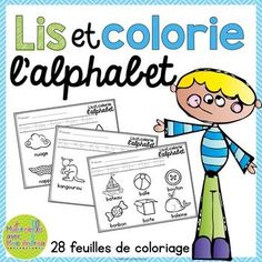 These 28 alphabet colouring/tracing sheets are a perfect addition to your French alphabet instruction/practice time! Students will read and trace each letter, and colour 1-6 images of objects that begin with that letter (*please note that focus is on the beginning LETTER, not the beginning sound - for example, envelope and exercise both begin with the letter e, but start with different sounds*).
