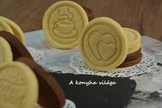 Hungarian Recipes, Winter Food, Creative Food, Kids Meals, Peanut Butter, Biscuits, Muffin, Food And Drink, Sweets
