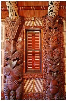 bay of islands Maori meeting house
