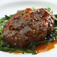 Asian Salisbury Steak