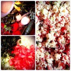 Recette Taboulé aux herbes et aux tomates   Instamiam