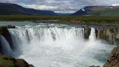Goðafoss Wasserfall, Iceland / Island