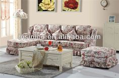Country Style Sofa Slipcovers | See Larger Image