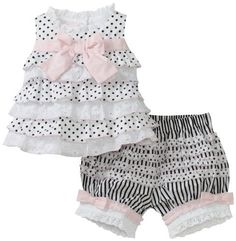 Biscotti Baby-Girls Infant Little Darling Top And Bloomer Set, Black/White, 3 Months Biscotti, http://www.amazon.com/dp/B006JWBH32/ref=cm_sw_r_pi_dp_ftM9qb0K5RCMG