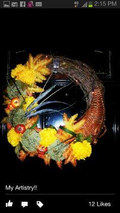 Thanksgiving Wreath 2012