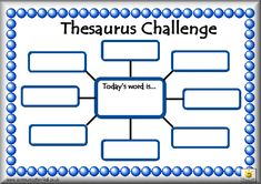 thesaurus challenge and other goodies. Activities to go along with the book Roget and His Thesaurus.