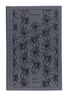 "Clothbound Penguin Classics (""Dracula,"" by Bram Stoker), designed by Coralie Bickford-Smith"