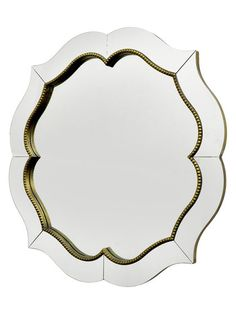 Framed Wall Mirror by Three Hands at Gilt