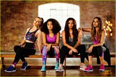 Little Mix Want To Have A Fashion Line In The Future: Photo #909355. Little Mix show off their sporty style as the new ambassadors for USA Pro in these campaign pics. The ladies -- Perrie Edwards, Jade Thirlwall, Leigh-Anne Pinnock,…