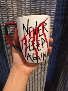 Freddy Krueger Mug by aCupofNostalgia on Etsy, $18.00
