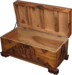 Whether your cedar chest is a family heirloom or antique-store find, it's wise to clean the inside before using it for storage. Old chests can be dusty inside or smell like mothballs, but with a ...