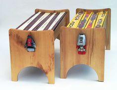 ski benches #handmadebench