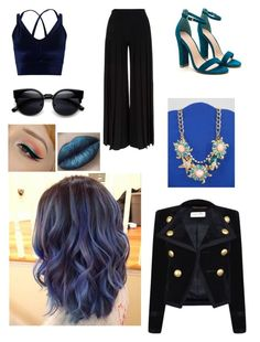 """""""Untitled #3237"""" by sammisaurusrex ❤ liked on Polyvore featuring Miss Selfridge, Marco de Vincenzo, Yves Saint Laurent and Betsey Johnson"""