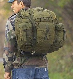 Military Surplus Medium ALICE Pack with Frame, Used available at a great price in our Rucksacks & Backpacks collection Us Military Surplus, Military Gear, Tactical Equipment, Hunting Equipment, Survival Prepping, Survival Gear, Bushcraft, Army Gears, Outdoor Backpacks