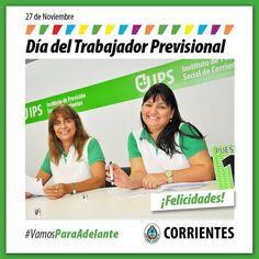 Día del Trabajador Previsional ¡¡Felicidades!! #VamosParaAdelante