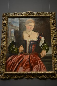 Portrait of a Young Lady, about Brescianisch Female Portrait, Young Women, Museum, Lady, Portraits, Painting, Inspiration, Dress, Biblical Inspiration
